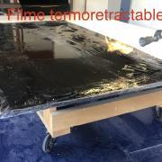 emballage plaque avec filme thermoretractable